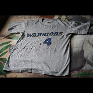 Vintage Chris Webber Warriors Tee Large